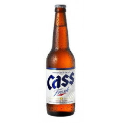 Bière Coréenne Cass - 33mL