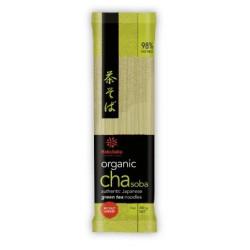 Soba aromatisée au thé vert...