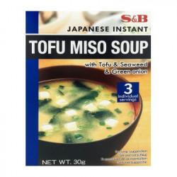 Soupe miso instantanée 30g