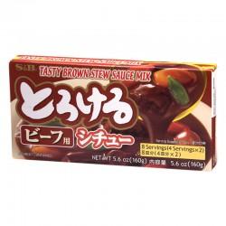 Tasty brown stew Torokeru...