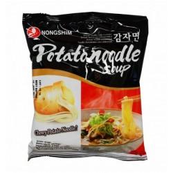 Potato Noodles Soup...