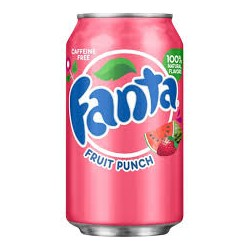 Fanta fruit-punch - 355ml