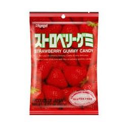 Bonbon gummy fraise KASUGAI...