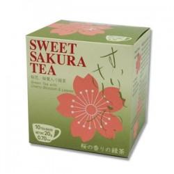 Thé vert sakura...