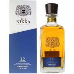 WHISKY THE NIKKA 12ANS 700ML