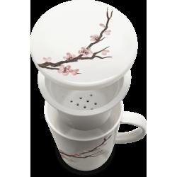 Tasse à Thé avec filtre Sakura