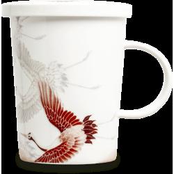 Tasse à Thé avec filtre Grue