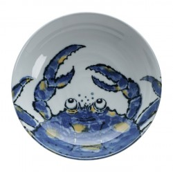 Bol Ramen Crabe Bleu 19x8.5cm